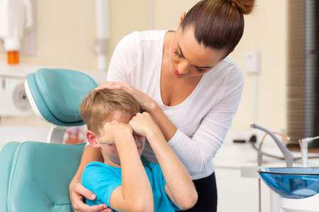 Child Overcome Fear of Dentists